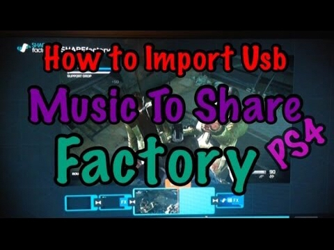 HOW TO GET FREE MUSIC ON SHAREFACTORY PS4! (Copyright Free)