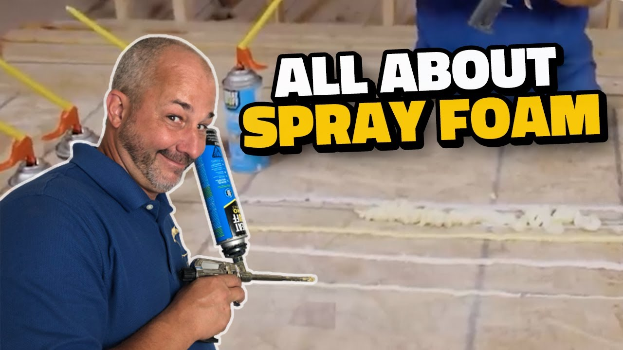 Everything You Need to Know About Spray Foam