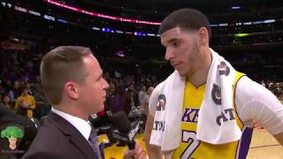 Lonzo Ball Full Lowlights 2018-1-9 Sacramento Kings vs Los Angeles Lakers