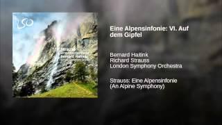 Eine Alpensinfonie: VI. Auf dem Gipfel