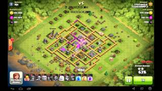 Clash of Clans sick 1million raid!