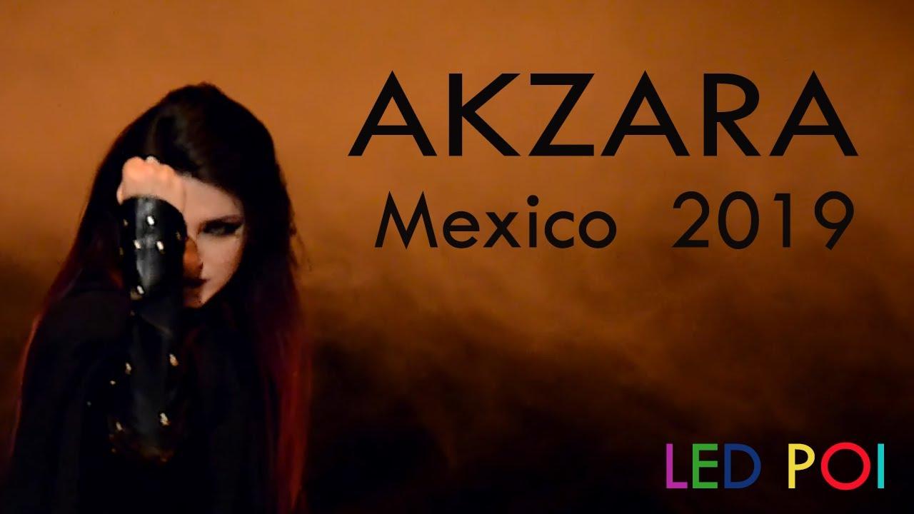 AKZARA México City 2019 - Led Poi