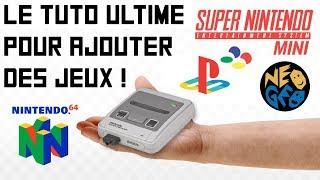 SUPER NINTENDO MINI : LE TUTO ULTIME POUR AJOUTER DES JEUX EN USB !