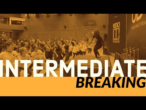 Intermediate Breakin' With Amber Williams - Learn Streetdance With UDOIT Dance Foundation