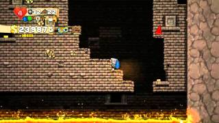 Spelunky - First Time Beating The Game