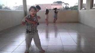 Gangnam Style (little boy dancing)