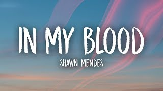 Shawn Mendes - In My Blood (Lyrics) MP3