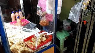 Indonesian Street Food - Manado Stik Pisang Goroho * jl pasar bahu