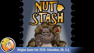 Nut Stash — game overview at Origins Game Fair 2019