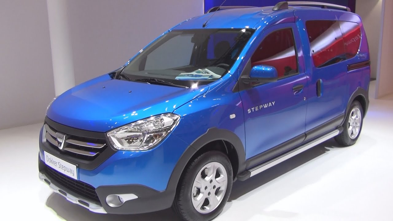 Dacia dokker stepway 1 5 dci 2015 exterior and interior in 3d youtube - Dacia dokker interior ...