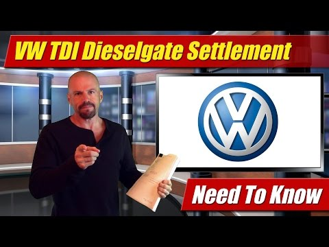 Volkswagen TDI Dieselgate Settlement: What You Need To Know