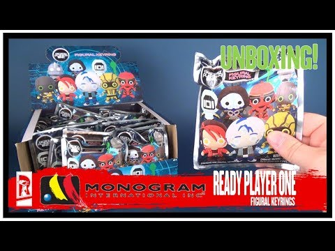 Collectible Spot | Monogram Int. Ready Player One Keychains ENTIRE CASE UNBOXING!