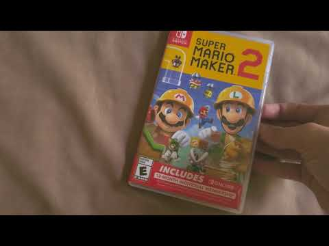 Download : Super Mario Maker 2 Unboxing Mp3 Mp4