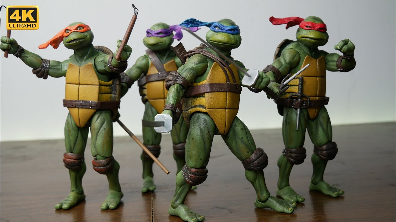 Unboxing Gamestop Exclusive Neca Teenage Mutant Ninja Turtles