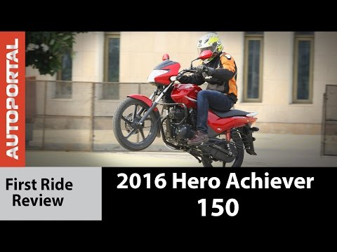 2016 Hero Achiever 150 - First Ride Review - Autoportal