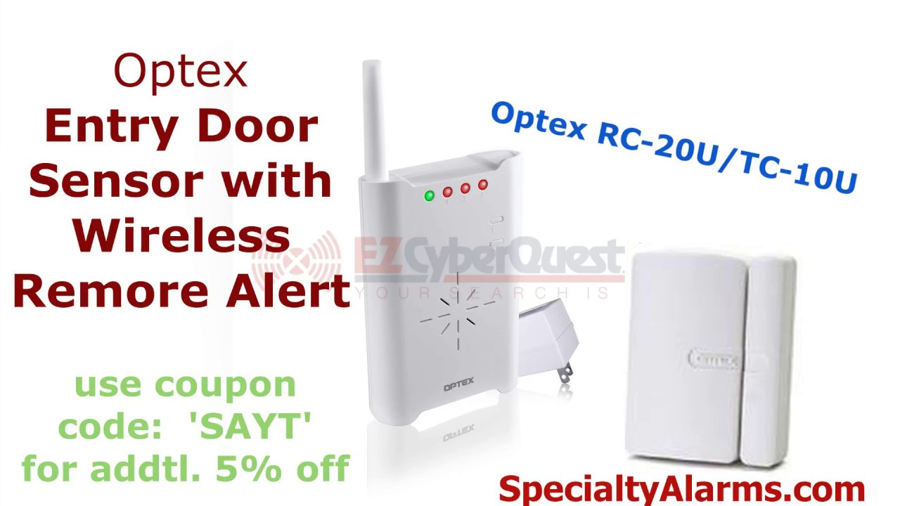 door entry alarm window remote protection system chime detector image security bell doors alert alarms wireless