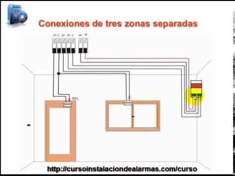 Conexionado de sensores de alarma en serie youtube - Como conectar un sensor de movimiento de tres cables ...
