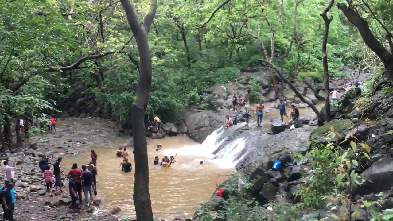 Thoseghar Fall Is A Famous Tall Waterfall Satara
