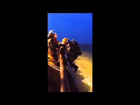 Boskalis Offshore Night Salvage Dive Diving Returning