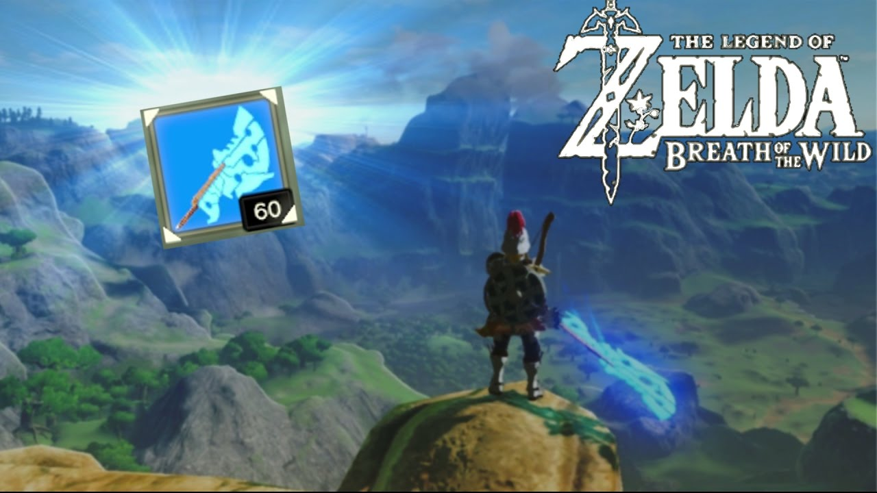 HOW TO GET A 60 DAMAGE WEAPON EARLY!! | Legend of Zelda: Breath of the Wild  Weapon Guide