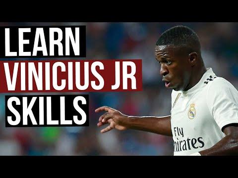 Soccer Skill Moves To Beat A Defender - Vinicius Junior Signature Move