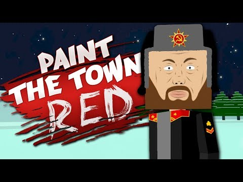 IN SOVIET RUSSIA, MUSEUM HEISTS YOU! - Best User Made Levels - Paint the Town Red