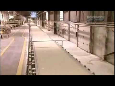 how gypsum board (Drywall) is made