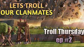 Clash of Clans : The FastLane Troll Base!!! Troll Thursday ep #2