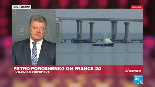 "Petro Poroshenko: ""It's an act of aggression of the Russian Federation against Ukraine"""