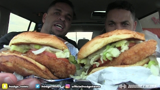 Tasting Sonic Classic Ultimate Chicken Sandwich @hodgetwins