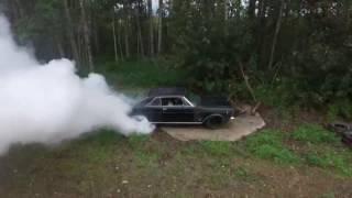 1966 Ford Galaxie 500 burnout