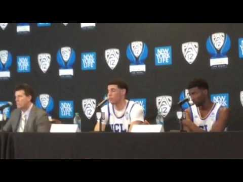 UCLA 2017 Pac-12 Tourney Postgame