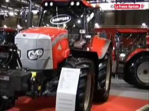 tracteur mccormick un troisi me xtx sima 2009 tracteur et mat riel agricole youtube. Black Bedroom Furniture Sets. Home Design Ideas