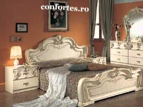mobilier dormitoare mobilier de camere youtube. Black Bedroom Furniture Sets. Home Design Ideas