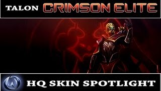 League of Legends: Crimson Elite Talon (HQ Skin Spotlight)