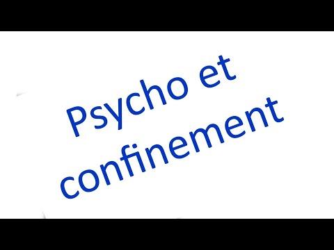 Confinement et état psychologique