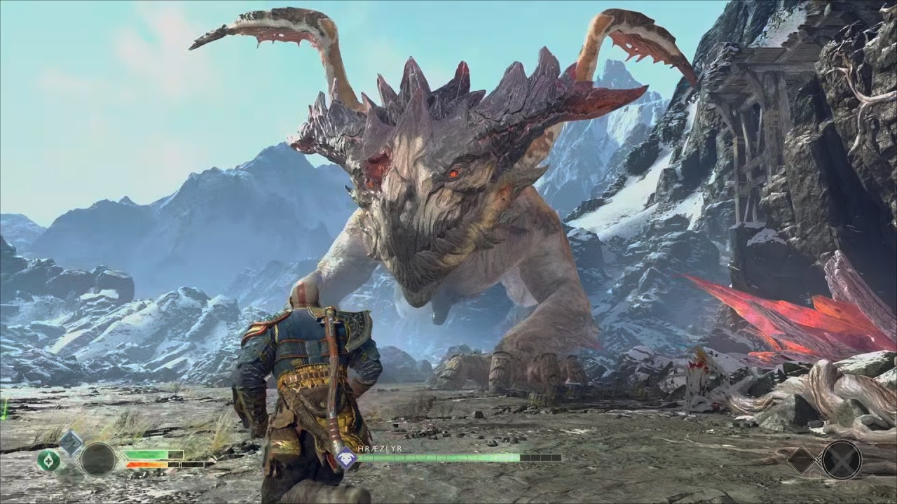 God of War PS5 - Dragon Boss Rumble!
