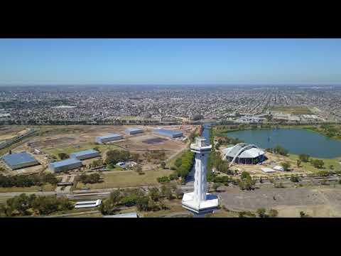 Viaje a Torre espacial Interama 25 Km 240 m Mavic Pro 4k