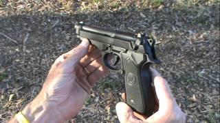 Beretta 92 FS Close Up