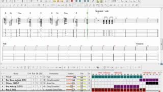 Kimikiss - Negai Boshi (hoshi) - Snow* - Guitar Pro - Chords - Kimikiss Pure Rouge Ed 01