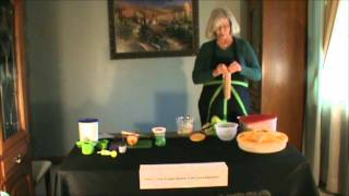 Janet's Cinnamon Cream Cheese Dip.wmv