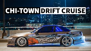 Drift Cars in the Streets of Chicago: Nighttime Photo Session with Ryan Litteral and Risky Devil!