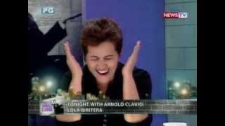 Tonight with Arnold Clavio:  Lola Biritera, tuwang-tuwang maging viral diva