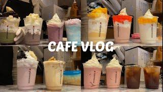 [Eng/ cafe vlog/메리치즈/구슬스무디/버블요…