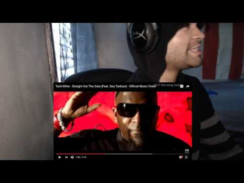 Tech N9ne - Straight Out The Gate (Feat. Serj Tankian) - Official Music Video REACTION!!!