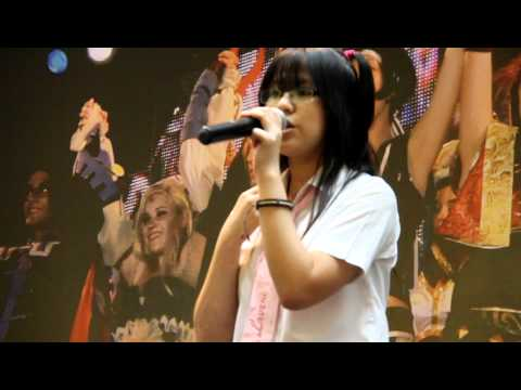 Anime Karaoke Competition WORLD IS MINE BY RYO/SUPERCELL AND VOCALOID'S HATSUNE MIKU 06/11/2011