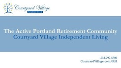 Welcome to Courtyard Village at Raleigh Hills - An Independent Living Community in Portland.