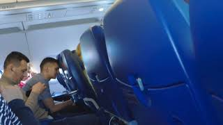 Развлечения на борту самолёта компании Аврора