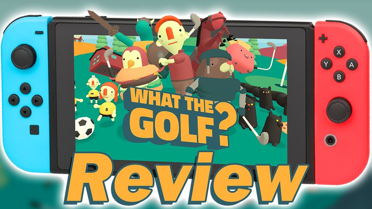 What the Golf Nintendo Switch Review (Video Game Video Review)