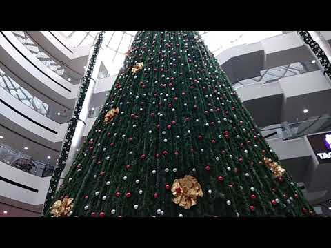 Huge Christmas Tree in Park Square Mall Bangalore